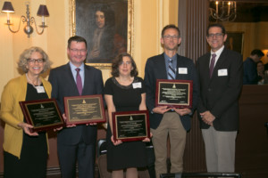 Honorees with MSMR Board Chair Bill Barbo
